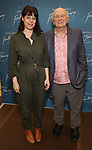 """Arin Arubs and Terrence McNally during the """"Frankie And Johnny In The Clair De Lune"""" Company Meet The Press  at the the New 42nd Street Studios on April 18, 2019 in New York City."""
