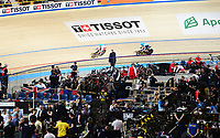 Picture by Simon Wilkinson/SWpix.com - 01/03/2018 Day 2  - UCI 2018 Track Cycling World Championships. Apeldoorn The Netherlands - Tissot branding
