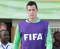 Keit Cardona. Italy defeated the US Under-17 Men's National Team 2-1 in Kaduna, Nigera on November 4th, 2009.
