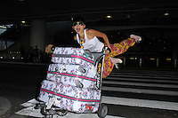 Bai Ling<br /> arrives at LAX from India where she served on the jury at the Mumbai Film Festival, LAX, Los Angeles, CA 10-25-14<br /> David Edwards/Dailyceleb.com 818-249-4998