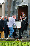 The Funeral of Aine Crowe Ballyheigue took place from St Mary's Church,Ballyheigue on Friday then to Cork to be cremated.