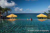 The Caribbean, Anguilla. Malliouhana Hotel & Spa, pool.