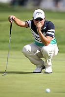 02/15/14 Pacific Palisades, CA: Sang-Moon Bae during the third round of the Northern Trust Open held at the Riviera Country Club.