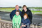 L-r Brendan McAnearney, Delia McAnearney, Chloe McAnearney and Nicole McAnearney at the Listowel Harvest Racing Festival on Sunday