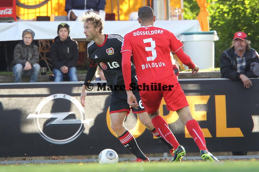 Stefan Reinartz (Bayer) gegen Leon Aderemi Balogun (Fortuna)