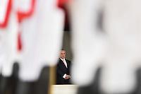 BRASÍLIA, DF, 07.02.2017 – MAURICIO-MACRI – O presidente da Argentina Mauricio Macri durante visita ao presidente brasileiro Michel Temer Palácio do Planalto em Brasilia nesta terça-feira, 07. (Foto: Ricardo Botelho/Brazil Photo Press)