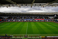 A general view of the Liberty Stadium during the Sky Bet Championship match between Swansea City and Millwall at the Liberty Stadium in Swansea, Wales, UK. Saturday 23rd November 2019