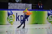 SCHAATSEN: HEERENVEEN: Thialf, Essent ISU World Cup, 02-03-2012, 5000m Ladies B Division, Annouk van der Weijden (NED) wins in 7,07,28, ©foto: Martin de Jong