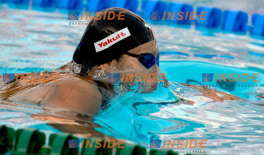 Roma 31st July 2009 - 13th Fina World Championships .From 17th to 2nd August 2009.Women's 200m Breaststroke.Rie KANETO (JPN).Roma2009.com/InsideFoto/SeaSee.com .Foto Andrea Staccioli Insidefoto
