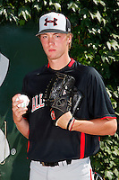 Pitcher Trey Killian #15 poses for a photo before the Under Armour All-American Game at Wrigley Field on August 13, 2011 in Chicago, Illinois.  (Mike Janes/Four Seam Images)
