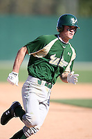 February 20, 2009:  Shortstop Sam Mende (8) of the University of South Florida during the Big East-Big Ten Challenge at Jack Russell Stadium in Clearwater, FL.  Photo by:  Mike Janes/Four Seam Images