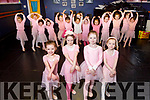 Young Ballerinas Grace Hill, Grace McCarthy, Grace Leonard and Sadhbh Sheehy launching their upcoming Born to Dance show at the Kerry School of Music on Saturday.