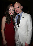 Laura Osnes & Michael Cerveris.Behind the Scenes at the 2012 Tony Award-Meet The Nominees Press Reception at Millennium Broadway Hotel on May 2, 2012 in New York City. © Walter McBride/WM Photography .