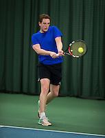 Rotterdam, Netherlands, Januari 28, 2017, ABNAMROWTT, Supermatch<br /> Photo: Tennisimages/Henk Koster