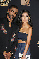 Big Sean &amp; Jhene Aiko at the 2017 MTV Movie &amp; TV Awards at the Shrine Auditorium, Los Angeles, USA 07 May  2017<br /> Picture: Paul Smith/Featureflash/SilverHub 0208 004 5359 sales@silverhubmedia.com