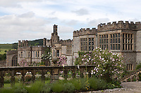 View of Haddon Hall over The Fountain Terrace