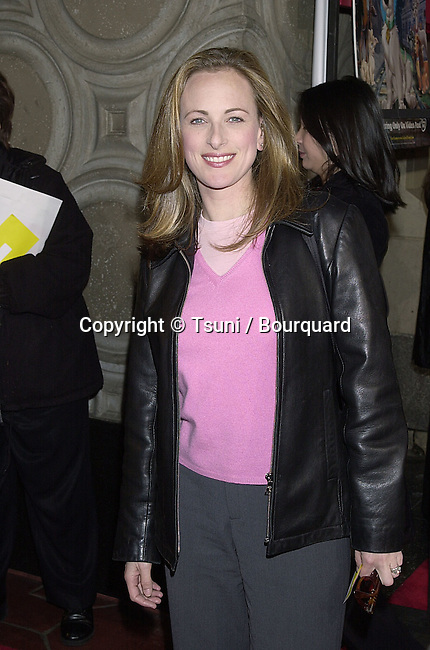 2/18/2001 Los Angeles California Marlee Matlin arriving at the premiere of Lady and the Tramp II: Scamp's Adventure          -            MatlinMarlee04.jpg