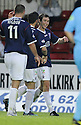 05/05/2008   Copyright Pic: James Stewart.File Name : sct_jspa10_falkirk_v_hearts.CARL FINNIGAN CELEBRATES AFTER HE SCORES FALKIRK'S SECOND.James Stewart Photo Agency 19 Carronlea Drive, Falkirk. FK2 8DN      Vat Reg No. 607 6932 25.Studio      : +44 (0)1324 611191 .Mobile      : +44 (0)7721 416997.E-mail  :  jim@jspa.co.uk.If you require further information then contact Jim Stewart on any of the numbers above........