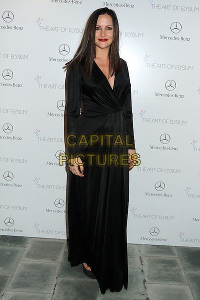 11 January 2014 - Los Angeles, California - Christina McLarty. 7th Annual Art of Elysium Heaven Gala held at the Skirball Cultural Center.  <br /> CAP/ADM/BP<br /> &copy;Byron Purvis/AdMedia/Capital Pictures