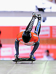 17 December 2010: Sandro Stielicke sliding for Germany, finishes in 6th place at the Viessmann FIBT Skeleton World Cup Championships in Lake Placid, New York, USA. Mandatory Credit: Ed Wolfstein Photo