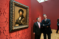 High Museum director Michael Shapiro (left) and Louvre director Henri Loyrette in the Anne Cox Chambers Wing of the High Museum of Art. Over the next three years, the High Museum will feature hundreds of works of art from the Musée de Louvre.