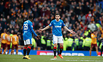 Graham Dorrans tries to arrange the Rangers players after going 2-0 down