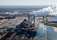 aerial photograph Big Bend Power Station Tampa, Florida