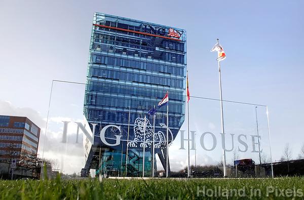 ING kantoor op de Zuidas  van Amsterdam