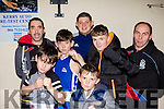 Knock out<br /> --------------<br />  Casino Vale boxing club who travelled from Ballybunion to take part in the Tralee boxing club tournament last Saturday night were, Donnacha Sayers, Michael Downey Snr,Ricky O'Brien, Aaron McElligott, Michael Downey jnr, Kevin Cronin and Denis Sayers.