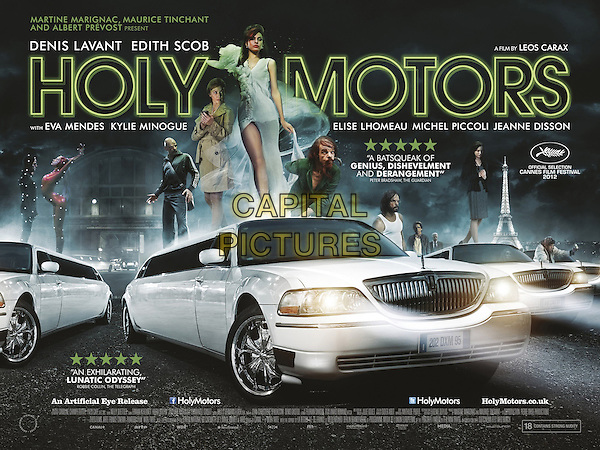 BRITISH POSTER ART.in Holy Motors (2012).*Filmstill - Editorial Use Only*.CAP/FB.Supplied by Capital Pictures.