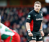 Photo: Richard Lane/Richard Lane Photography. Saracens v Biarritz. Heineken Cup. 15/01/2012. Saracens' John Smit.