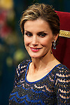Queen Letizia of Spain attended the 'Prince of Asturias Awards 2014' ceremony at the Campoamor Theater on October 24, 2014 in Oviedo, Spain.