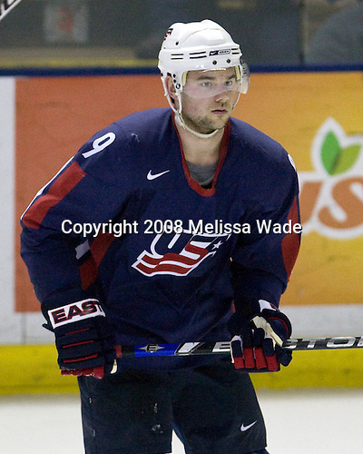 Patrick O'Sullivan (USA 9 - Los Angeles Kings/Mississauga IceDogs) - Team USA defeated Team Sweden 5-1 on Sunday, April 27, 2008, in an exhibition match at the Cumberland County Civic Center in Portland, Maine, prior to the 2008 World Championships.