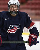 Sean Dhooghe (NTDP - 24) - The Harvard University Crimson defeated the US National Team Development Program's Under-18 team 5-2 on Saturday, October 8, 2016, at the Bright-Landry Hockey Center in Boston, Massachusetts.