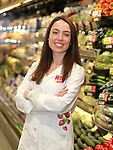 Holly Stevens, RD, registered dietician at the ShopRite of Bridge & Harrison in Philadelphia, PA