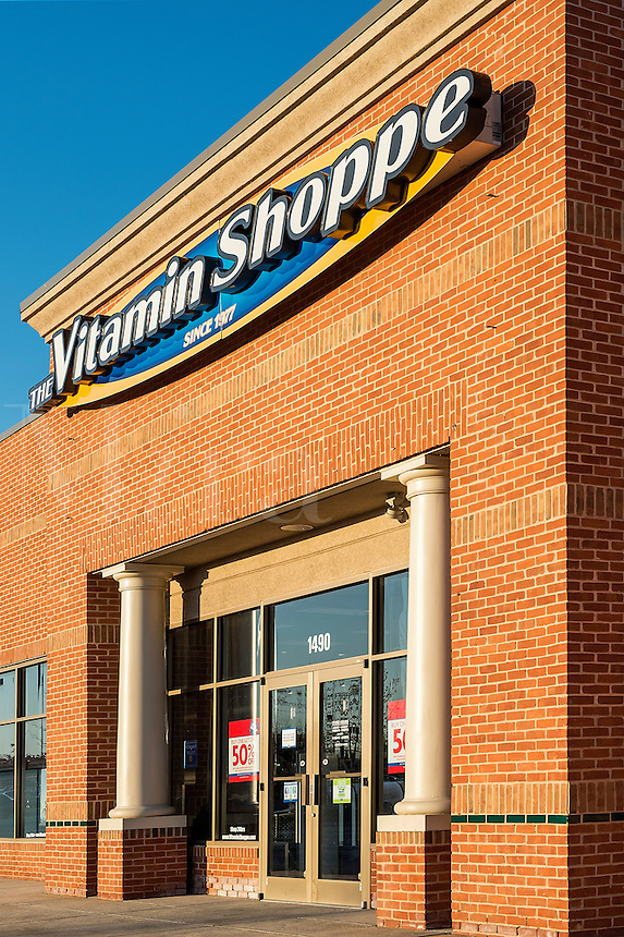 Vitamin Shoppes store exterior.