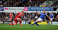 Ipswich Town's Matthew Pennington battles with Nottingham Forest's Jack Colback<br /> <br /> Photographer Hannah Fountain/CameraSport<br /> <br /> The EFL Sky Bet Championship - Ipswich Town v Nottingham Forest - Saturday 16th March 2019 - Portman Road - Ipswich<br /> <br /> World Copyright &copy; 2019 CameraSport. All rights reserved. 43 Linden Ave. Countesthorpe. Leicester. England. LE8 5PG - Tel: +44 (0) 116 277 4147 - admin@camerasport.com - www.camerasport.com