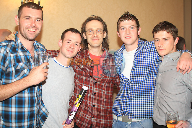 Ian, Gary, Martin, Eugene and Richie after the fights..Picture: Shane Maguire / www.newsfile.ie