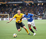 03.10.2019 Young Boys of Bern v Rangers: Sheyi Ojo and Frederik Sorensen