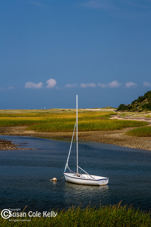 Pamet Harbor in Truro, Cape Cod, Massachusetts, USA