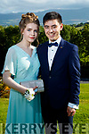 Eibhlís Beirne and Solas O'Halloran, pictured at Causeway Comprehensive School Debs, at Ballyroe Heights Hotel, Tralee, on Wednesday, August 9th last,