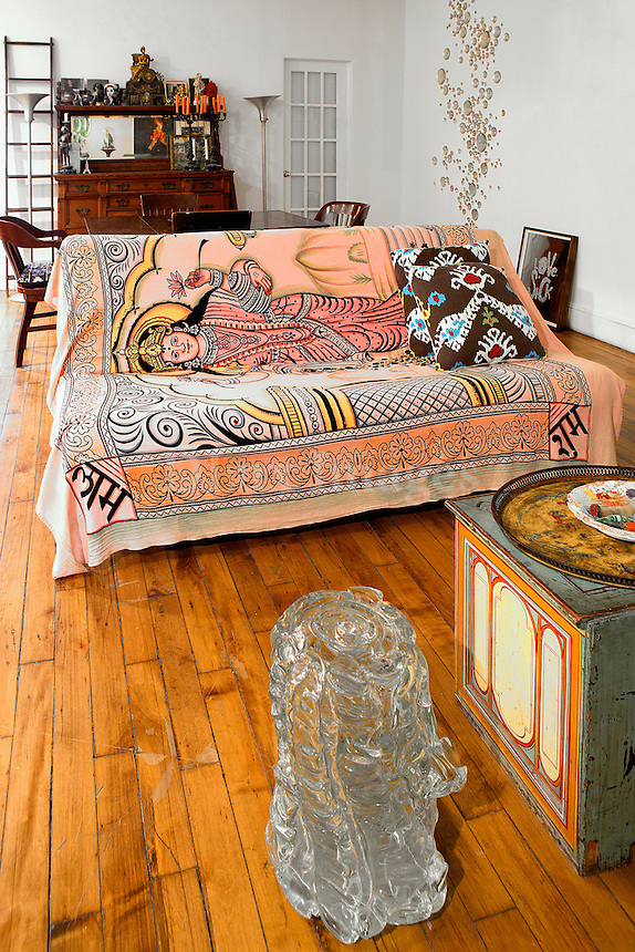 ethnic living room