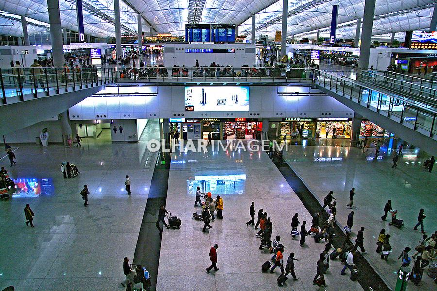 Aeroporto de Pequim. China. 2007. Foto de Flávio Bacellar.