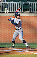 Ford Stainback (11) of the Rice Owls at bat against the Charlotte 49ers at Hayes Stadium on March 6, 2015 in Charlotte, North Carolina.  The Owls defeated the 49ers 4-2.  (Brian Westerholt/Four Seam Images)