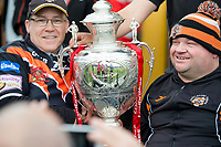 Picture by Allan McKenzie/SWpix.com - 13/05/2017 - Rugby League - Ladbrokes Challenge Cup - Castleford Tigers v St Helens - The Mend A Hose Jungle, Castleford, England - Castleford, fans, supporters, Challenge Cup.