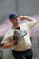July 8 2009: Matt Baugh of the Tri City Dust Devils before game against the Salem-Kaizer Volcanoes at Volcano  Stadium in Kaizer,OR.  Photo by Larry Goren/Four Seam Images