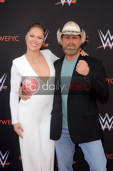 Ronda Rousey, Shawn Michaels<br /> at the WWE EMMY For Your Consideration Event, Saban Media Center, North Hollywood, CA 06-06-18<br /> David Edwards/Dailyceleb.com 818-249-4998