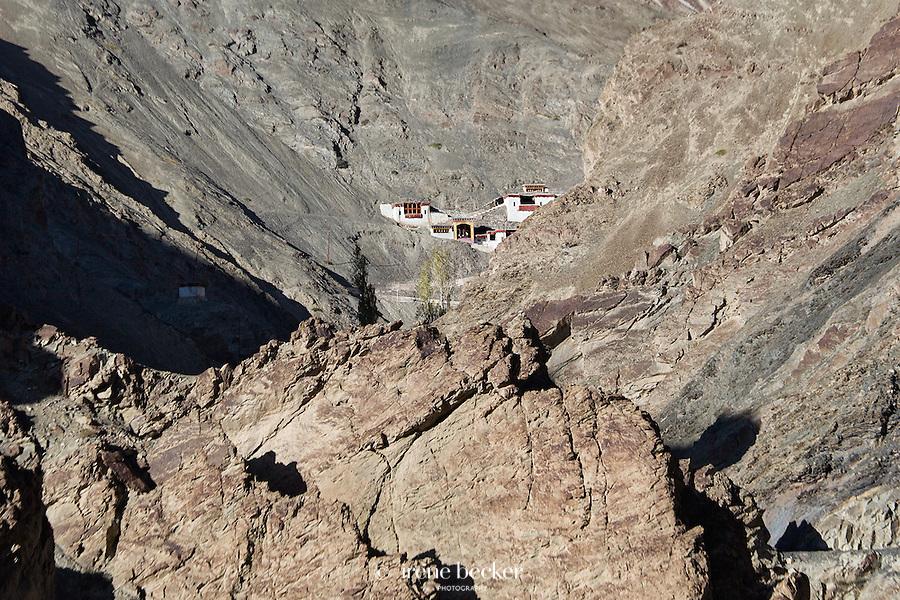Rizong Monastery or Rizong Gonpa,  Jammu and Kashmir,  India