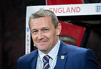 England U21 Head Coach (Manager) Aidy Boothroyd ahead of the FIFA World Cup qualifying match between England and Slovakia at Wembley Stadium, London, England on 4 September 2017. Photo by PRiME Media Images.