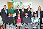 Patrick McInerney Tarbert and Paul Murphy Keel winners of the NEKD and SKDP Farmbiz receive their prizes at the Farmbiz awards ceremony in Killorglin Council building on Friday evening front row l-r: Patrick McInerney Tarbert, Therese Deane Castlemaine, Paul Murphy Keel, Michael O'Dowd Castlemaine. Back row: Brian Leslie Farmers Journal, Tomas O'Connor Tralee, Tom Galvin Listowel, Tom Sheahan Teagus, James Moriarty Castlemaine, Patsy Cronin SKED and Eamon O'Reilly NEKD..